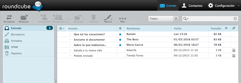 Webmail insuperable